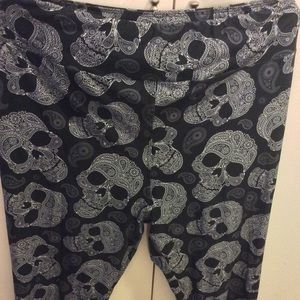Charlie's Project sugar skull leggings